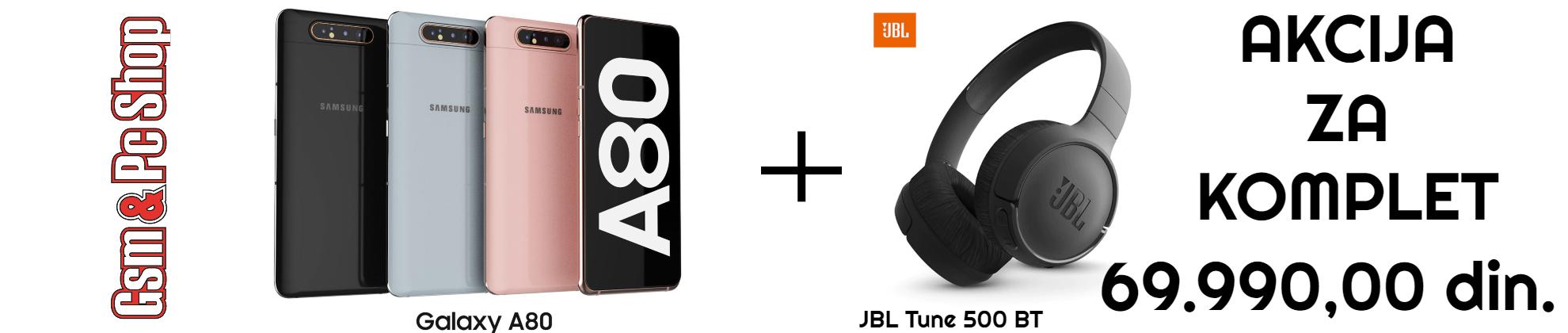 samsung a80 + jbl