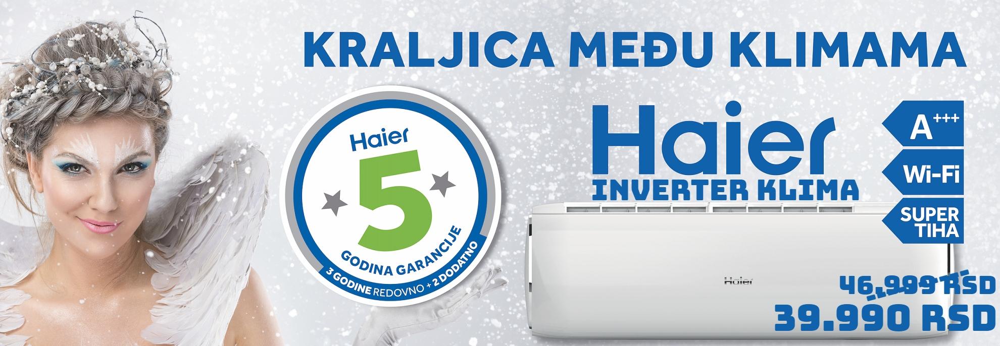 HAIER INVERTER KLIMA
