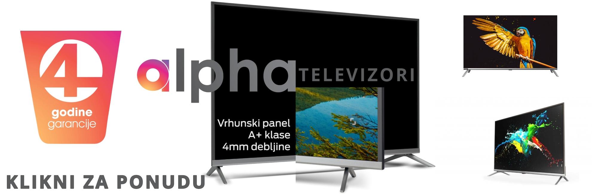 Alpha televizori
