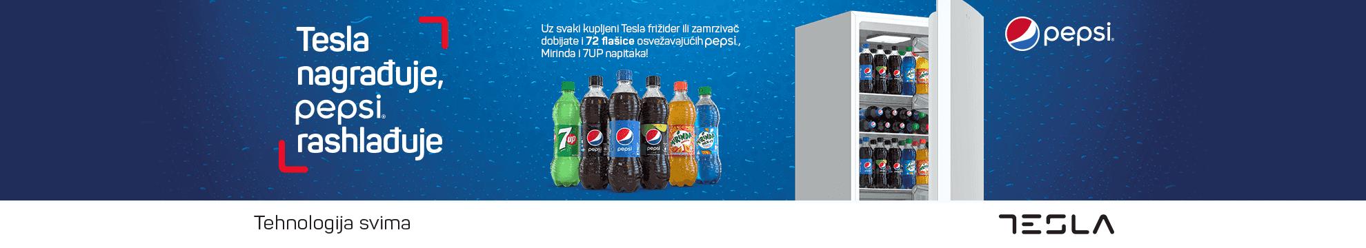 tesla poklanja Pepsi