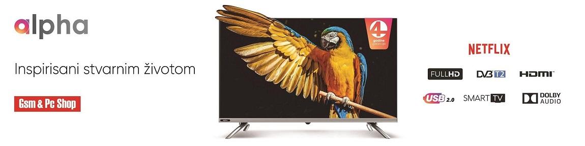 Alpha televizori baner