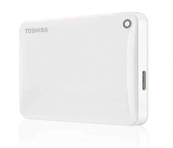 Toshiba HDD Canvio Connect II 2.5 500GB White, USB 3.0, eksterni hard disk, HDTC805EW3AA