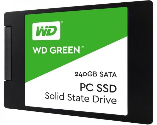 WD 240GB 2.5'' SATA III WDS240G2G0A Green SSD