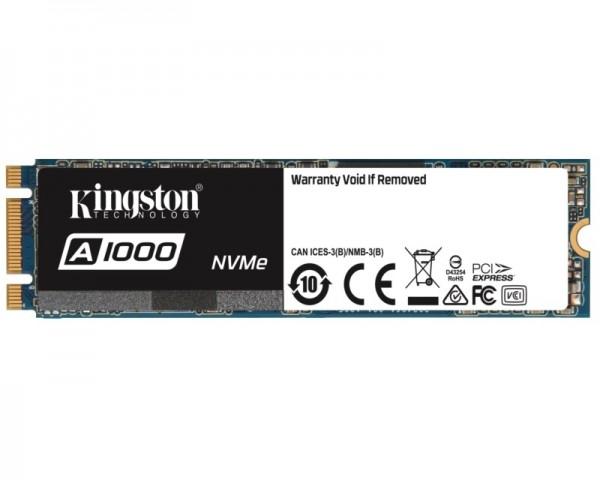 KINGSTON 480GB M.2 NVMe SA1000M8480G SSD A1000 series