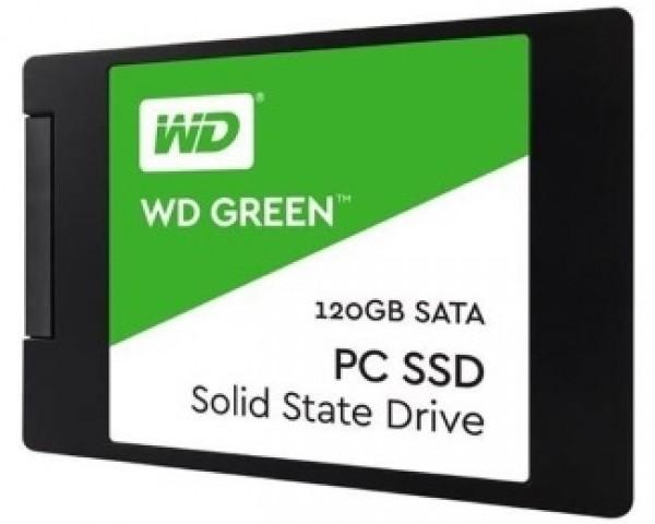 WD 120GB 2.5'' SATA III WDS120G2G0A Green SSD