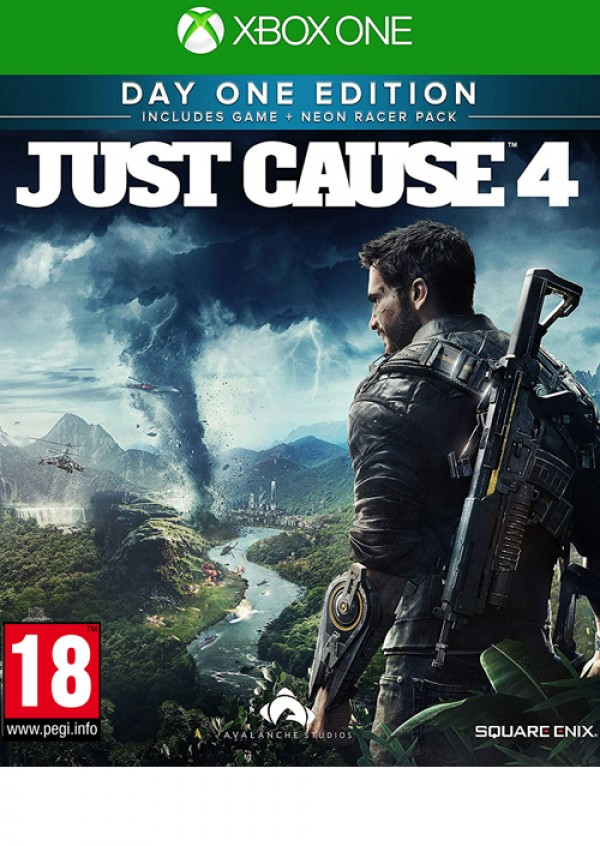 XBOXONE Just Cause 4 Day One Edition - Steelbook ( SJCS41EN02 )