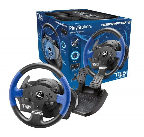 T150 RS Force Feedback Wheel PC/PS3/PS4 ( 4160628 )