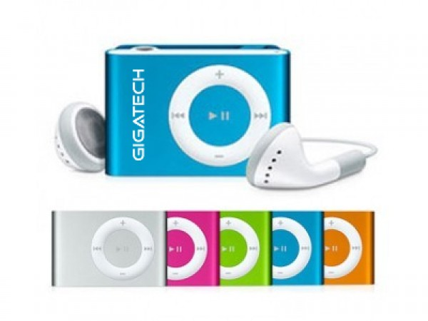 GIGATECH MP3 PLAYER GMP-03 RED (GAMA)
