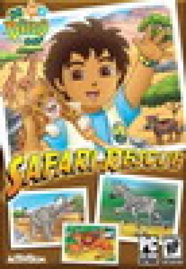 PC Go Diego Go! Safari Rescue, MB (  )