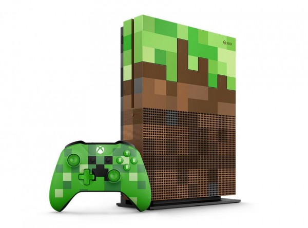 XBOXONE S Console 1TB Minecraft Limited Edition (  )