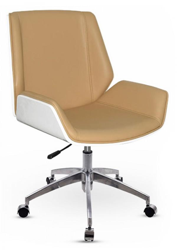 Office Fotelja - Niski naslon Bela/Krem ( MC094-1W ) ( MC094-1W )