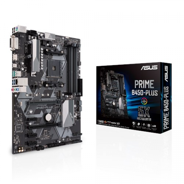 Asus AMD MB PRIME B450-PLUS AM4' ( 'PRIME B450-PLUS' )