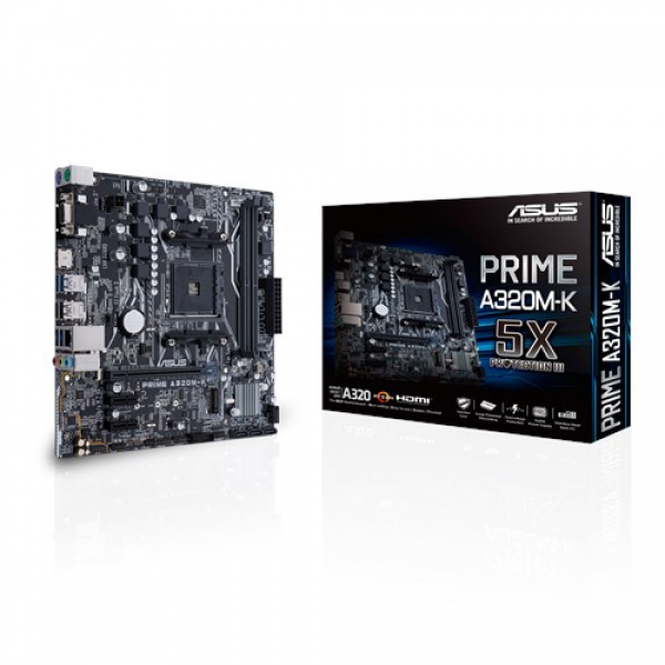 Asus AMD MB PRIME A320M-K AM4' ( 'PRIME A320M-K' )