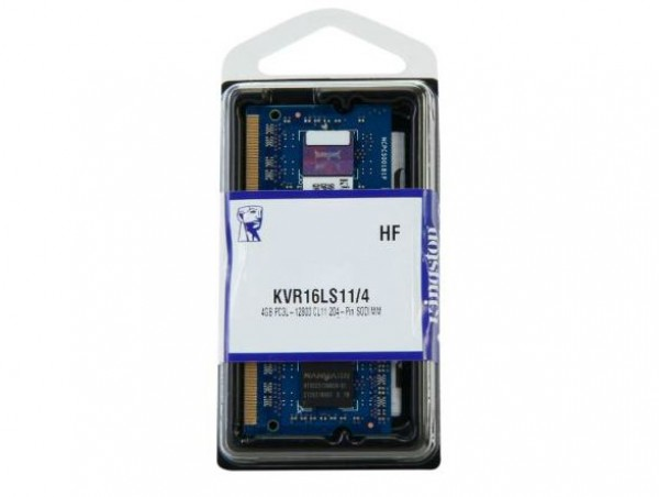 Kingston SODIMM DDR3 4GB 1600MHz KVR16LS114 1.35V' ( 'KVR16LS114' )