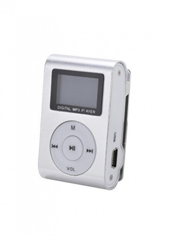 GIGATECH MP3 PLAYER GMP-13 FM/LCD/SILVER (GAMA)