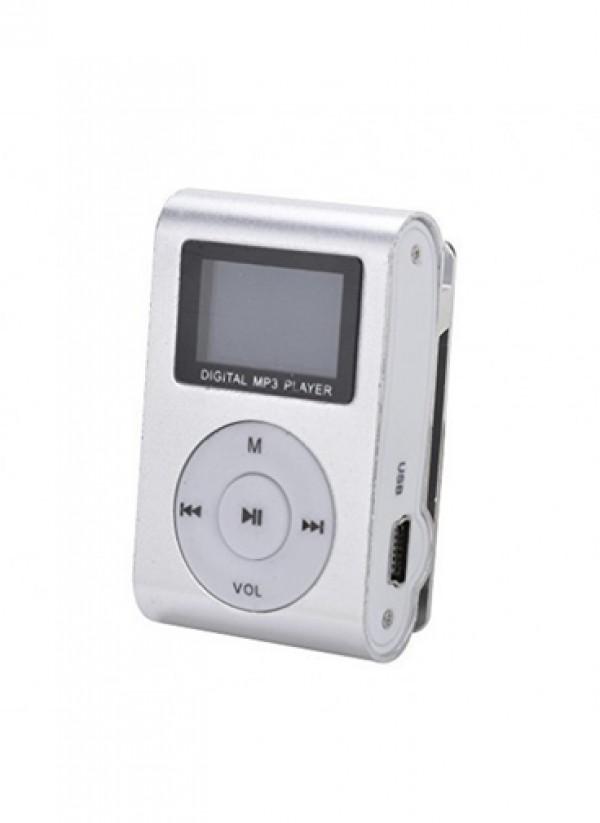GIGATECH MP3 PLAYER GMP-13 FM/LCD/SILVER (GAMA)