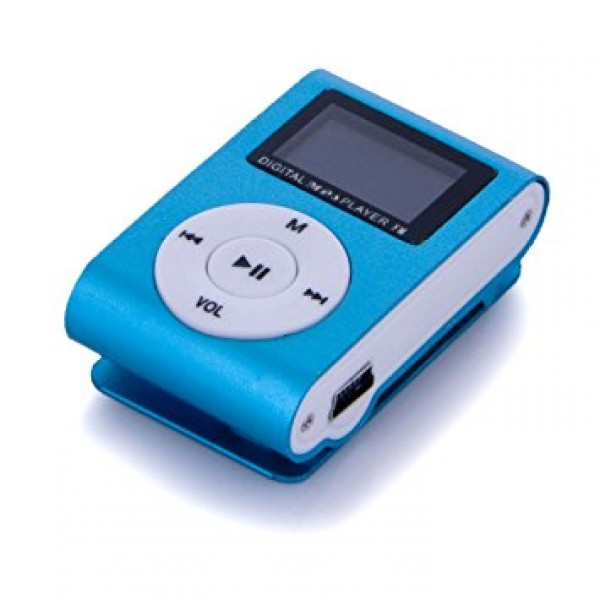 GIGATECH MP3 PLAYER GMP-13 FM/LCD/BLUE (GAMA)