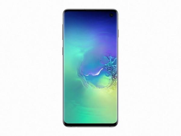 Samsung Galaxy S10 128GB Green DS' ( 'SM-G973FZGDSEE' )