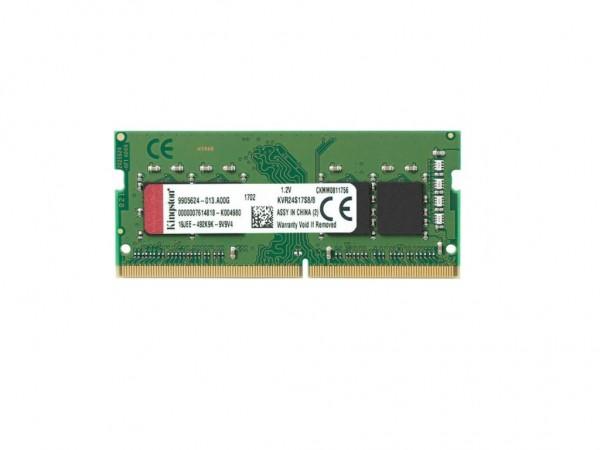 Kingston SODIMM DDR4 8GB 2400MHz KVR24S17S88' ( 'KVR24S17S88' )