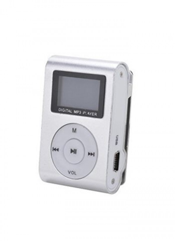 MP3 PLAYER GIGATECH GMP-13 FMLCD silver