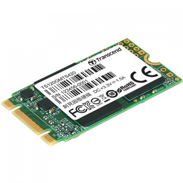 SSD M.2  120GB TRANSCEND TS120GMTS420S