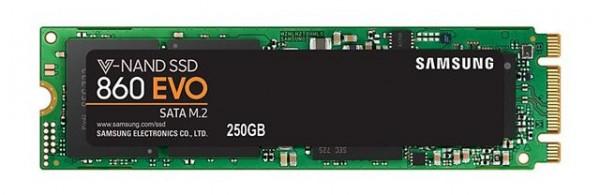SSD M.2  250GB SAMSUNG 860 EVO MZ-N6E250BW