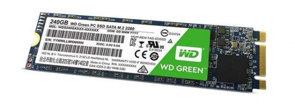 SSD  240GB WD WDS240G2G0B