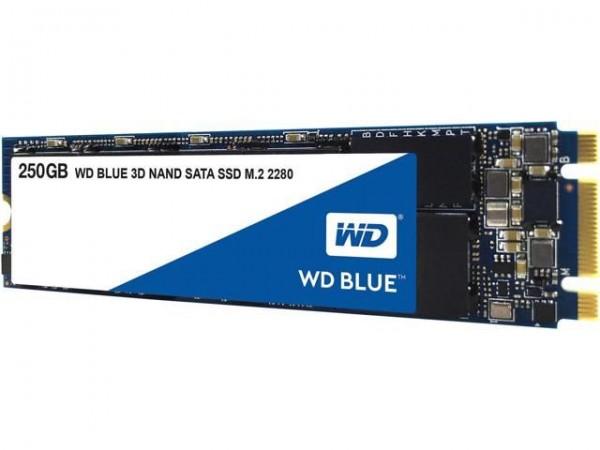 SSD WD 250GB Blue 3D NAND M.2 2280  SATA