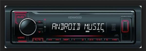 AUTO RADIO Kenwood KMM-104RY - radioUSBMP3AUX