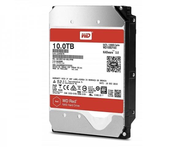 WD 10TB 3.5'' SATA III 256MB 5.400rpm WD100EFAX RED