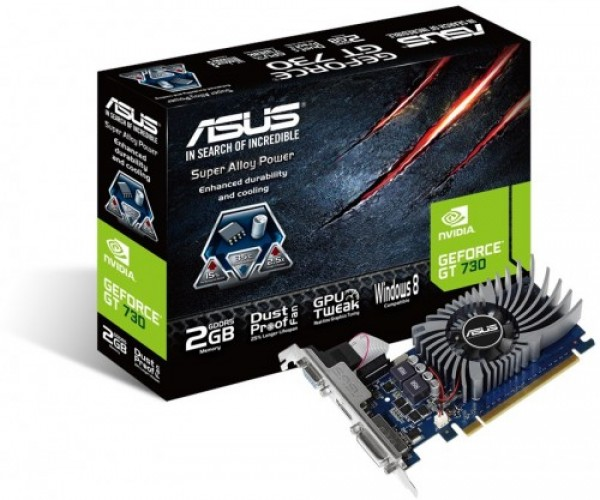 Asus NVD GT 730 2GB 64bit GT730-2GD5-BRK' ( 'GT730-2GD5-BRK' )