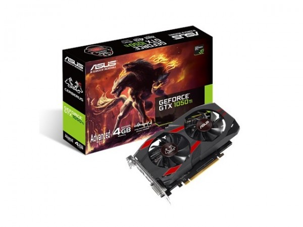 Asus NVD GTX 1050Ti 4GB 128bit CERBERUS-GTX1050TI-A4G' ( 'CERBER-GTX1050TI-A4G' )