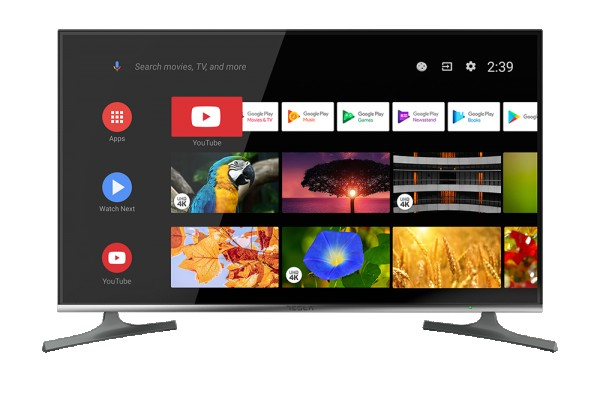 Tesla TV 55S903SUS, 55'' TV LED, slim DLED, DVB-T2CI+S2, Ultra HD, powered by Android TV, WiFi' ( '55S903SUS' )
