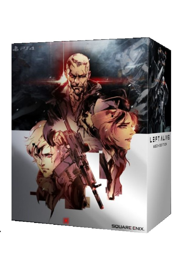 PS4 Left Alive Mech Edition ( SLEAL4EU04 )