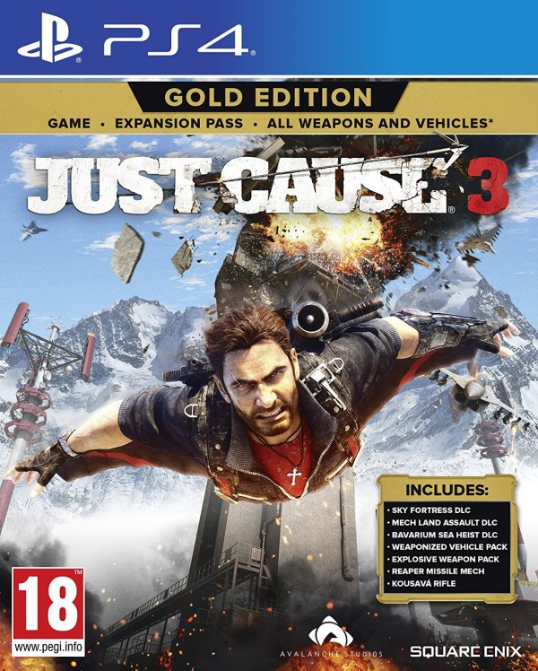PS4 Just Cause 3 Gold Edition ( SJC3G4EN01 )