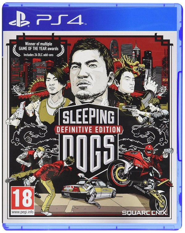 PS4 Sleeping Dogs Definitive ( SDOGD4EN01 )