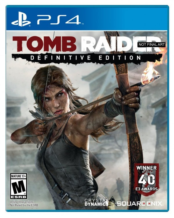 PS4 Tomb Raider Definitive Edition ( STOM94EN01,STOM94EX01 )