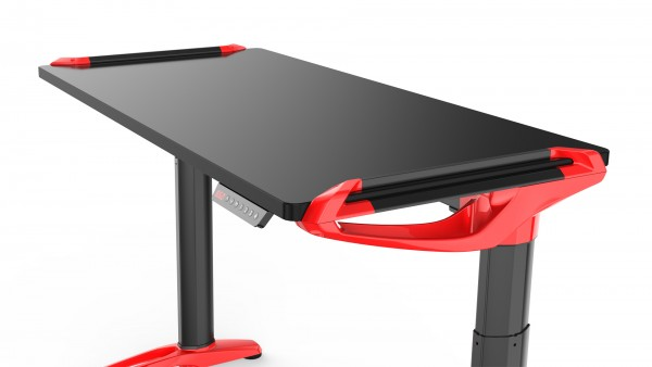Devana E3 Adjustable Desk Black/Red