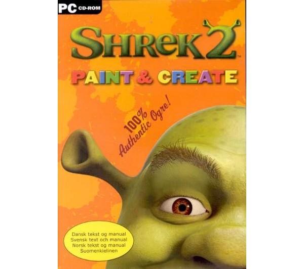 PC Shrek 2 Paint and Create