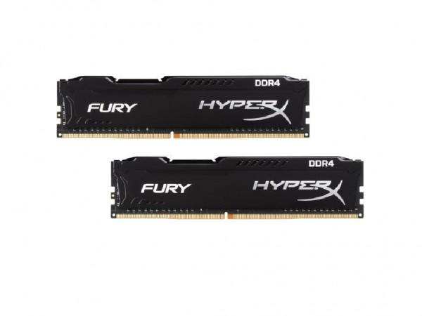 Kingston DIMM DDR4 16GB (2x8GB) 2666MHz HX426C16FB2K216 HyperX FURY Fury Black' ( 'HX426C16FB2K216' )