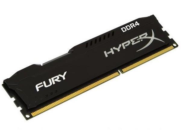 Kingston DIMM DDR4 16GB 2400MHz HX424C15FB16 HyperX Fury Black' ( 'HX424C15FB16' )