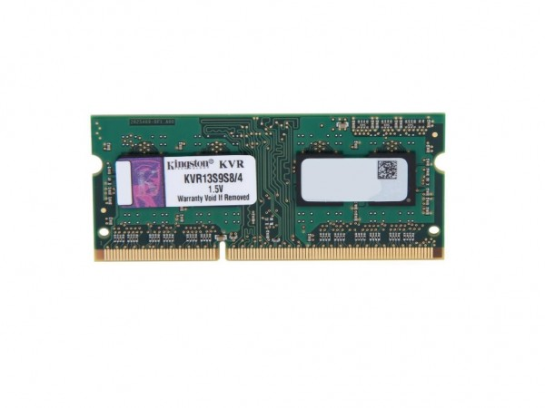 Kingston SODIMM DDR3 4GB 1333MHz KVR13S9S84 1.5V' ( 'KVR13S9S84' )