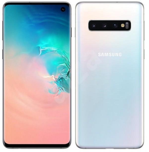 SAMSUNG Galaxy S10 8512 Bela, 6.1'', Octa Core, 8 GB, 16.0 Mpix + 12.0 Mpix + 12.0 Mpix