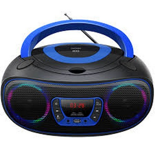 DENVER TCL-212BT BLUE CD PLAYER