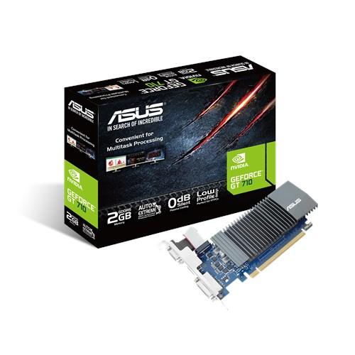 ASUS NVD GT 710 2GB DDR5 64BIT GT710-SL-2GD5