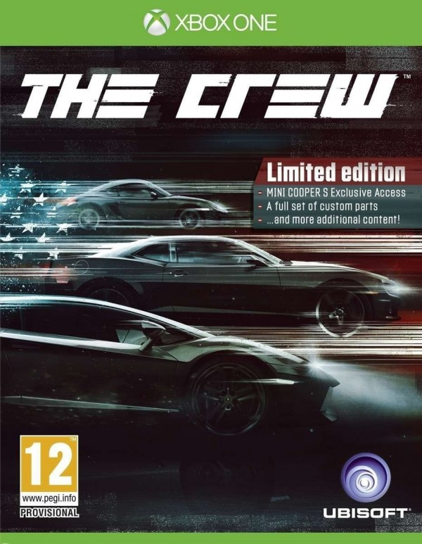 XBOXONE The Crew D1 Limited Edition ( XB1X-0057 )