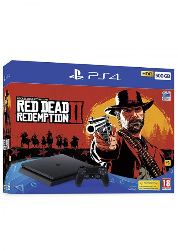 PlayStation PS4 500GB + Red Dead Redemption 2 (  )
