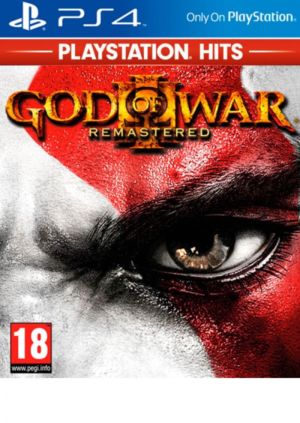 PS4 God Of War 3 Remastered Playstation Hits