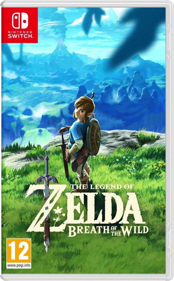 Switch The Legend of Zelda - Breath of the Wild