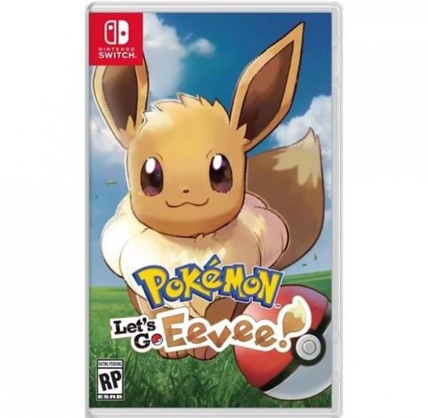Switch Pokemon Let's Go Eevee
